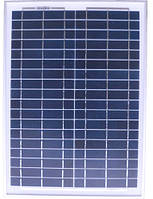 Солнечная панель 20Вт Perlight Solar PLM-020P (поликристалл 12В)