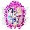 Шар фольгированный Принцессы Дисней розовый, 70 см