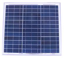 Солнечная панель 30Вт Perlight Solar PLM-030P (поликристалл 12В)