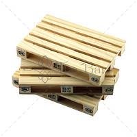 """Костер """"Mini Pallet"""" 120x80 мм, h 18 мм, дерево The Bars  D003"""