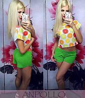 Яркие женские шорты е-010071