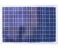 Солнечная панель 40Вт Perlight Solar PLM-040P (поликристалл 12В)