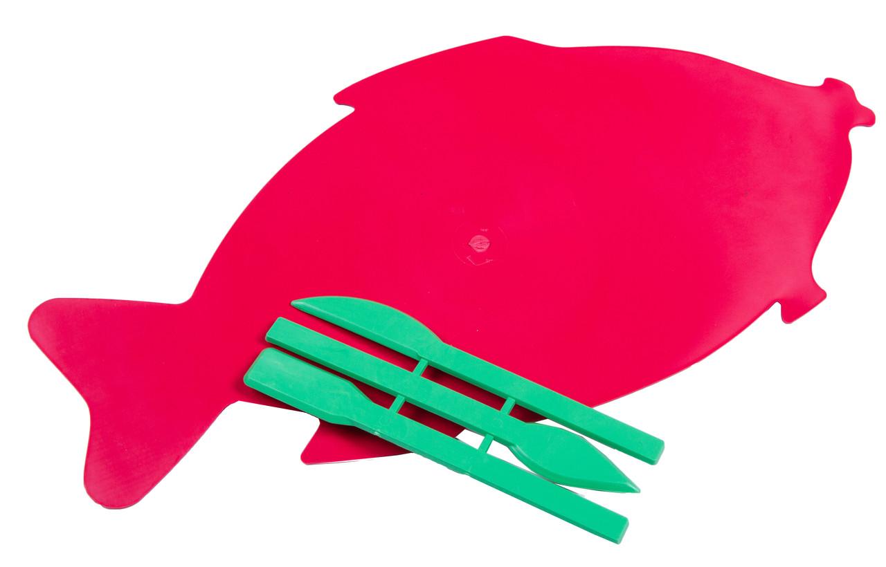 Дошки для пластиліну ФІГУРНІ +стеки для дитячої творчості