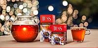 Чай Tess Pleasure черный с шиповником и яблоком 90г 908711