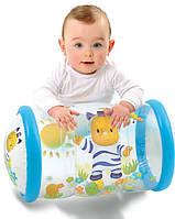 Развивающий надувной цилиндр с шариками погремушками Cotoons Smoby 211318N