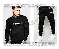 Спортивный костюм Reebok черный
