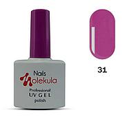 Гель-лак для ногтей Nails Molekula №31 сиреневый