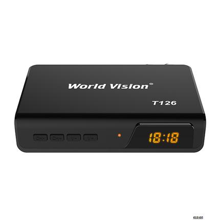Т2 тюнер World Vision T126, фото 2