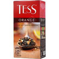 Чай Tess Orangе черный с цедрой апельсина пакетированный 25 шт 909389