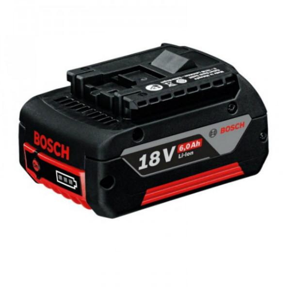 Аккумулятор Bosch LI-Ion 18 В, 6,0 Ач, 1600A004ZN
