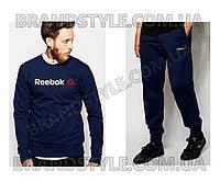 Спортивный костюм Reebok темно-синий