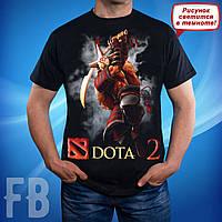 Мужская футболка с логотипом игры Dota 2 S, M, L, XL