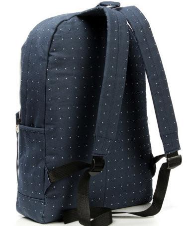 стильный рюкзак в горошек
