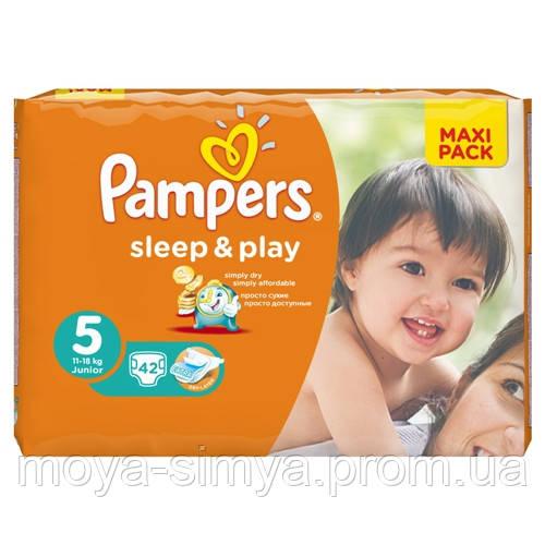 1155a275f446 Подгузники PAMPERS Sleep   Play Junior 5 (11-18 кг) Макси Пак 42 шт ...