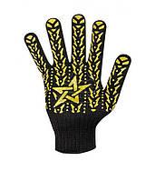 Перчатки Doloni Звезда черная 562