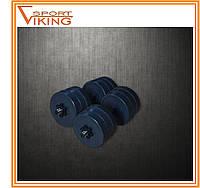 Гантели разборные (наборные) по 16 кг гранилит