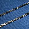 Серебряная цепочка Якорное плетение, черненая 45 см C-07