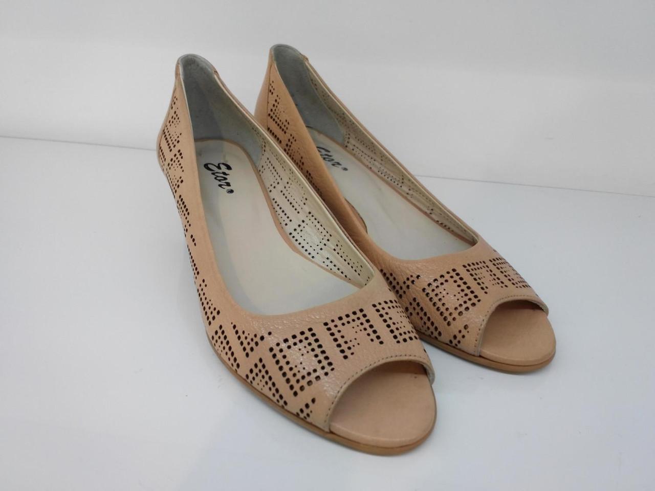 Туфли Etor 2930-191 бежевые, фото 1