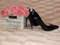 Туфли-лодочки, черные 102