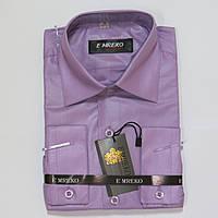 Школьная  классическая рубашка с длинным рукавом для мальчиков Турция 134р 158р