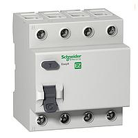 Дифференциальный выключатель нагрузки Schneider Electric Easy9, 25A, 4P, 30 mA