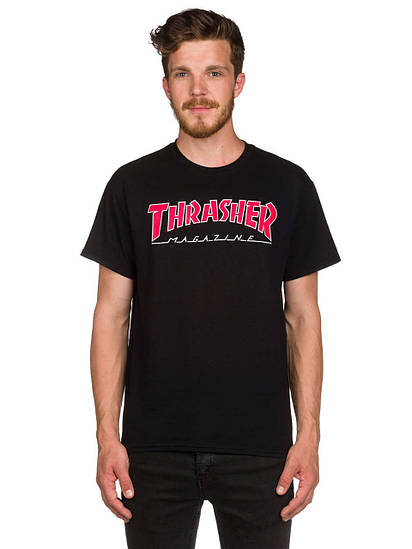 Мужская футболка Thrasher Outlined T-Shirt