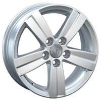 Литые диски Replay Volkswagen (VV58) W6.5 R16 PCD5x120 ET62 DIA65.1 silver