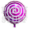 Новогодний шарик Леденец фиолетовый, 44 см