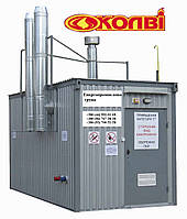 Газовая модульная транспортабельная котельная КМ-2-1300-Колви-550 1300 квт