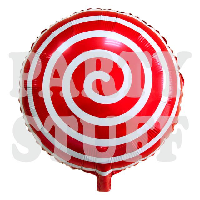 красный шар леденец
