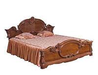 Кровать 2-сп Империя орех лак (Світ Меблів TM)