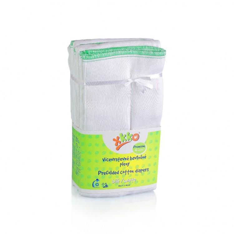 Вкладыши для многоразовых подгузников ХККО Premium Белые (6шт ... 5dc9394e30f