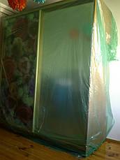 Пленка зеленаяя строительная для укрытия и защиты мебели во время ремонта, 3 м ширина, 30 мкм толщина, фото 2