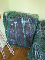 Пленка серая строительная для укрытия и защиты мебели во время ремонта, 3 м ширина, 30 мкм толщина,