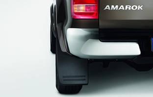 Брызговики VW Amarok c расшир порогов, оригинальные задн 2шт