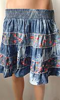 Молодежные коттоновые юбки.