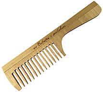 Расчески деревянные для волос ИЗ СИБИРИ С ЛЮБОВЬЮ (195mm / 13 зубьев) с ручкой