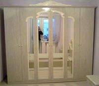 Шкаф 6Д Империя роза лак (Світ Меблів TM)