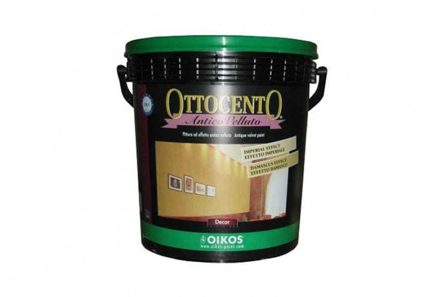 Декоративная краска Ottocento (Отточенто). Oikos