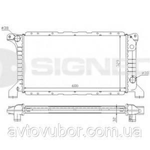 Радиатор основной Ford Transit 91-94 RA62177A 1040077