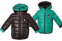 Детские двусторонние курточки весенние