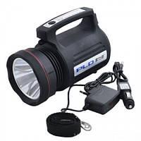 Прожекторный фонарь PLD-8006, ручной аккумуляторный фонарь PLD-8006, аккумулятор 6000 mAh, 4 режима работы