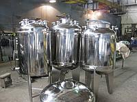 Емкости из нержавеющей стали от 30 до 20000 литров