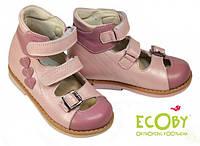 Ортопедические туфли для девочки Ecoby