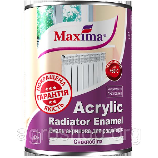 Эмаль акриловая для радиаторов отопления 0,9 кг