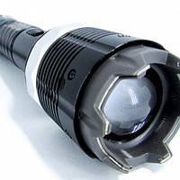 Электрошокер Спецназ Police ZZ-8810, 10000кВ, встроенный фонарь на диоде Q5, zoom, длина 20см, ремешок