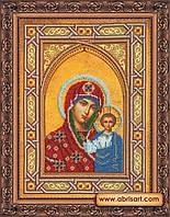 Набор для вышивания бисером икона Богородица Казанская AB-074