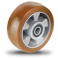 AU-серия колесо из полиуретана с алюминиевым диском для интенсивного использования, фото 1