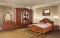 Спальня 6Д Империя орех лак (Світ Меблів TM)