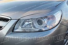 Реснички Шевроле Эпика (накладки на передние фары Chevrolet Epica)